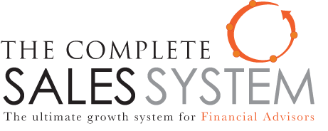 Sales System for Financial Advisors
